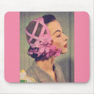 1950s Lillian and her marvelous Spring hat Mouse Pad