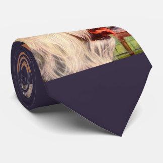 1950s old English sheepdog print Tie