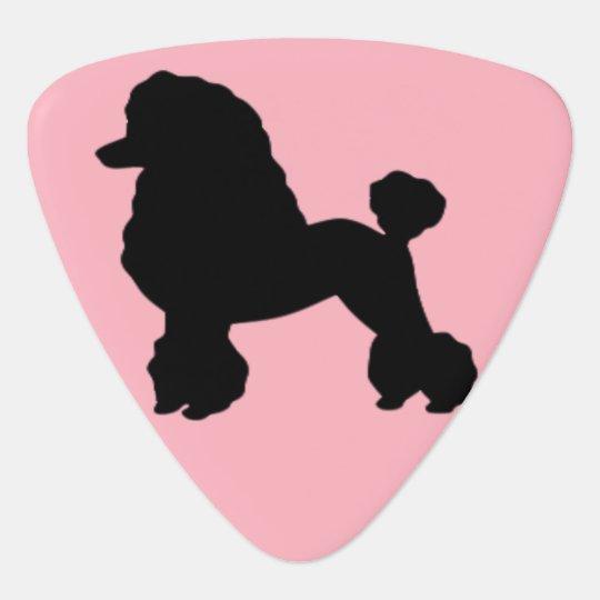 1950s Pink Poodle Skirt Inspired Guitar Picks Guitar Pick