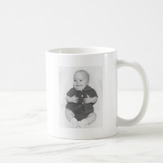 1950's Portrait of Baby Boy Classic White Coffee Mug
