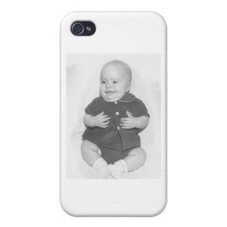 1950's Portrait of Baby Boy iPhone 4/4S Cover