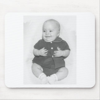 1950's Portrait of Baby Boy Mouse Pad