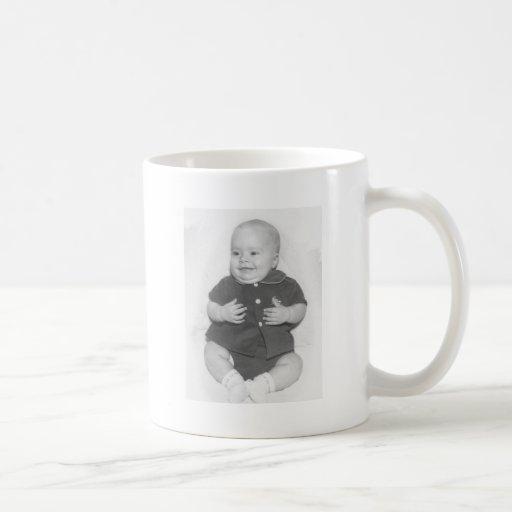 1950's Portrait of Baby Boy Coffee Mug