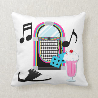1950s Sock Hop  Pillow