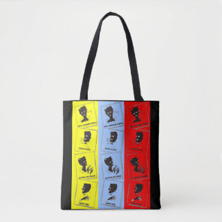 1950s three aces for Ace combs ad print Tote Bag