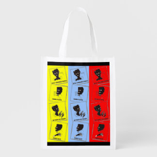1950s three aces for Ace combs Reusable Grocery Bag