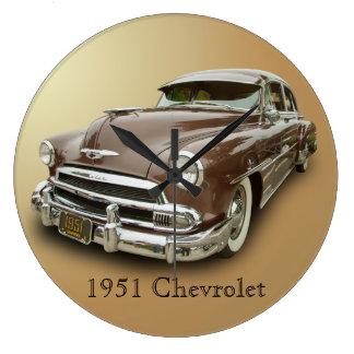 1951 CHEVROLET LARGE CLOCK