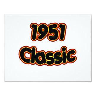 1951 Classic Card