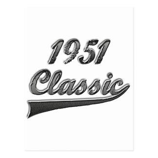 1951 Classic Postcard