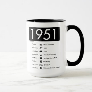 1951-Great Year (15 oz.) Coffee Mug