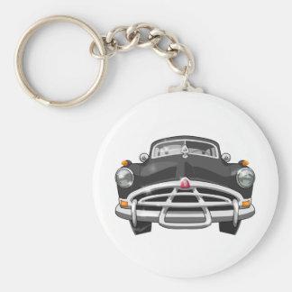 1951 Hudson Basic Round Button Keychain