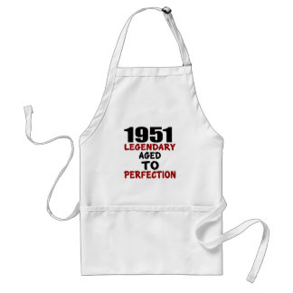 1951 LEGENDARY AGED TO PERFECTION STANDARD APRON