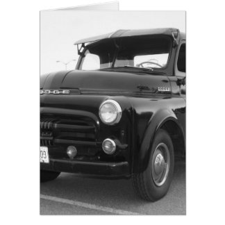 1952 Dodge Pickup Card
