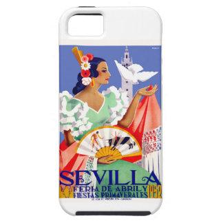 1952 Seville Spain April Fair Poster iPhone 5 Case
