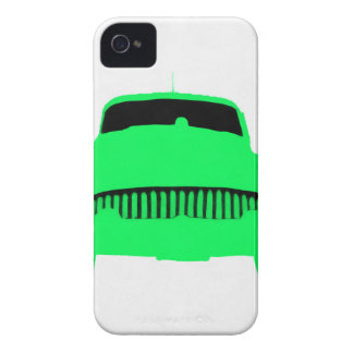 1953 Buick Pop Art Car Green iPhone 4 Covers