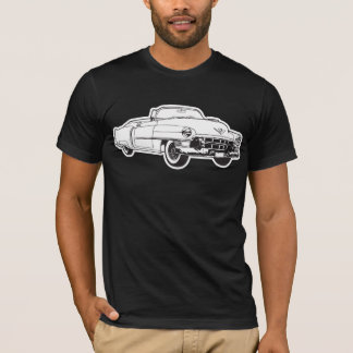 1953 Cadillac Series 62 convertible illustration T-Shirt