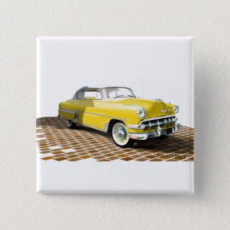 1953 Chevy 2 Inch Square Button