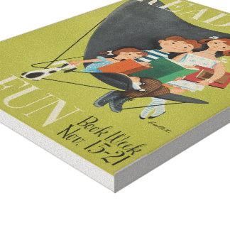 1953 Children's Book Week Canvas