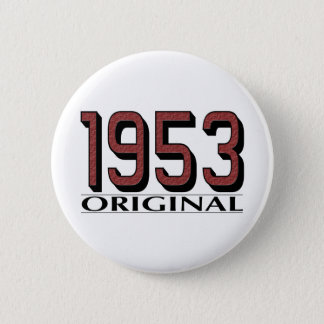 1953 Original 2 Inch Round Button
