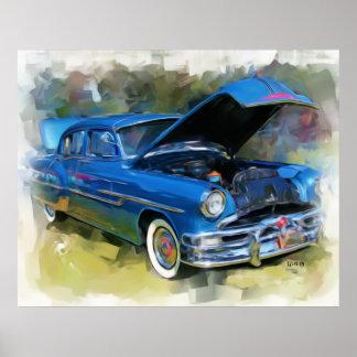 1953 Pontiac Poster