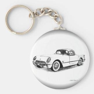 1954 Chevrolet Corvette Key chain