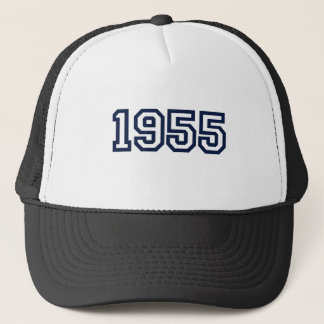 1955 birth year trucker hat