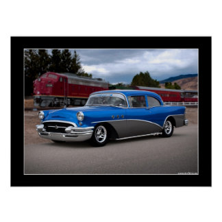 1955 Buick Special Classic Car Poster