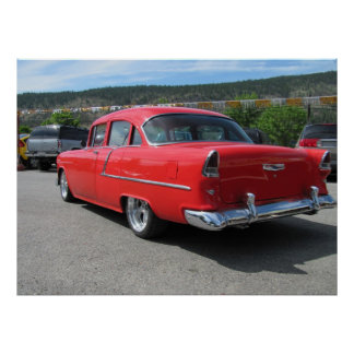1955 Chevrolet Bel-Air Hardtop Poster