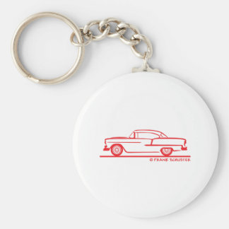 1955 Chevrolet Hardtop Coupe Keychain