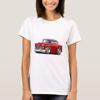 1955 Chevy Belair Red Car T-Shirt
