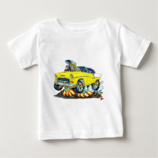 1955 Chevy Belair Yellow Car Baby T-Shirt