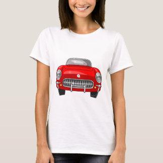 1955 Chevy Corvette Front View T-Shirt