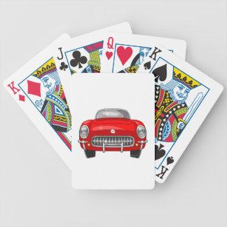 1955 Chevy Corvette Poker Deck