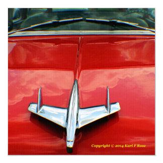1955 Chevy invitation