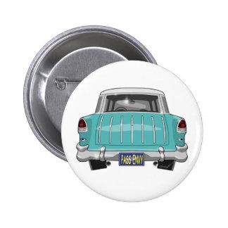 1955 Chevy Nomad 2 Inch Round Button