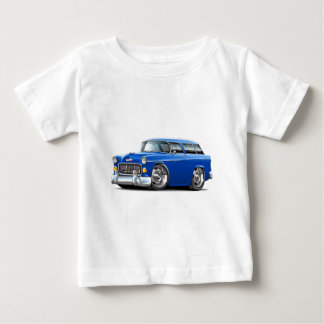 1955 Chevy Nomad Blue Car Baby T-Shirt