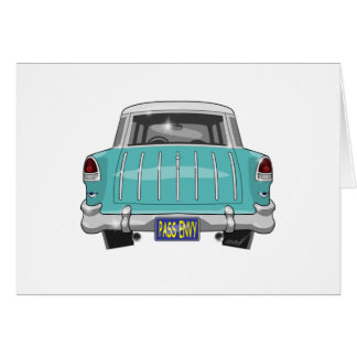 1955 Chevy Nomad Greeting Card