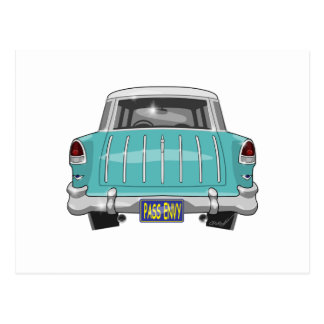 1955 Chevy Nomad Postcard