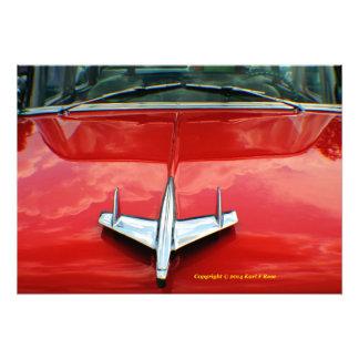 1955 Chevy photo print