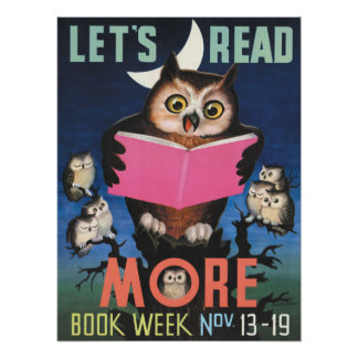 1955 Children's Book Week Poster