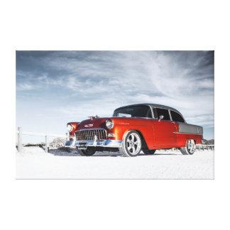 1955 Custom Chevrolet Bel Air Canvas Print