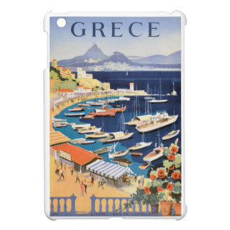 1955 Greece Athens Bay of Castella Travel Poster iPad Mini Cover