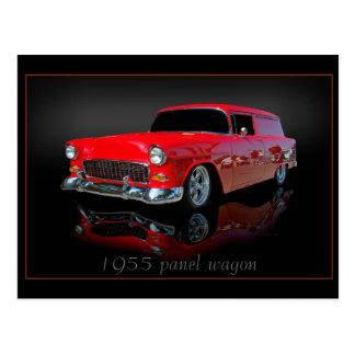 1955 panel wagon postcard