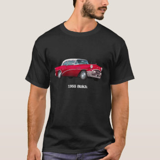1955 Red Buick Special Car T-Shirt