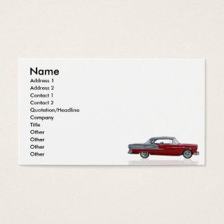 1955 shoebox business card