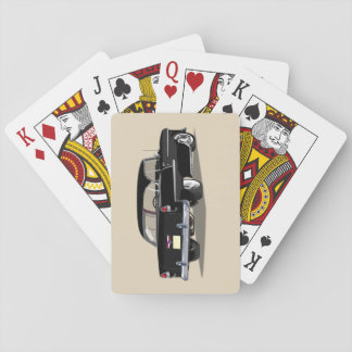 1955 Shoebox Playing Cards Black