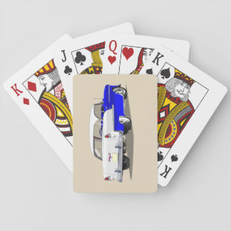 1955 Shoebox Playing Cards Blue and White