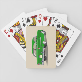 1955 Shoebox Playing Cards Green