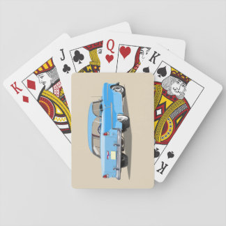 1955 Shoebox Playing Cards Light Blue