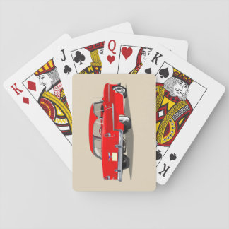 1955 Shoebox Playing Cards Red